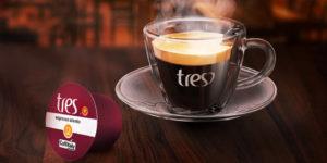 Cápsulas Três Corações compatíveis com Nespresso
