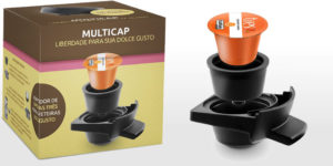Multicap funciona: Use cápsula Três na Dolce Gusto!