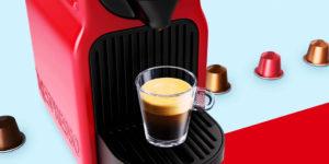 Como programar a Nespresso Inissia (volume de água)
