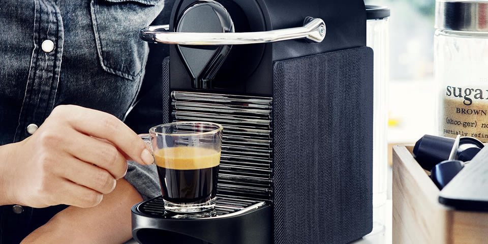 Pixel Clips Nespresso