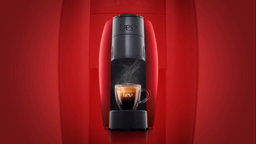 máquina de café Lov Três