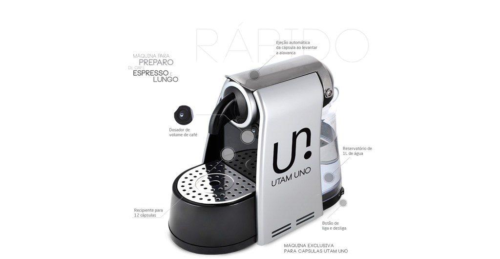Utam Uno coffee maker