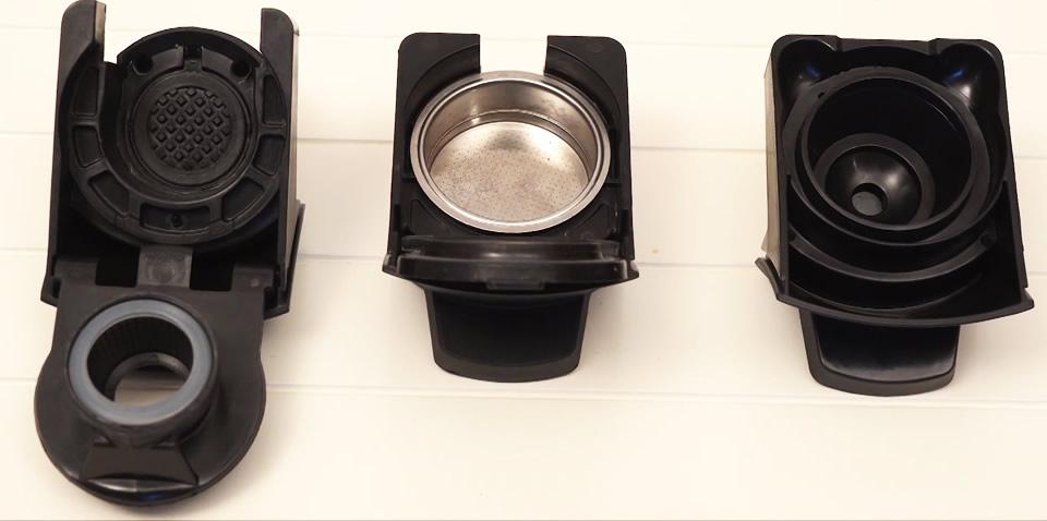 Multicápsulas coffee maker Philco trays